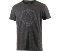 Pinline Printshirt Herren grau