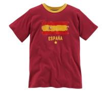 """T-Shirt Fanshirt """"España"""" für Kinder dunkelrot"""