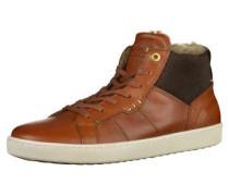 Sneaker navy / braun / dunkelgrau / weiß