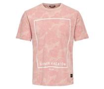 T-Shirt Bedrucktes pink