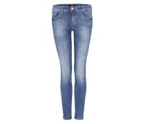 'Sienna Slim' Jeans mit Waschung blue denim