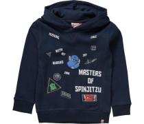 Sweatshirt 'ninjago' für Jungen dunkelblau / mischfarben