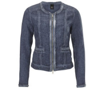 Leinenblazer blue denim