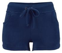 Hotpants aus weichem Frottee blau