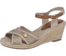 Sandaletten camel
