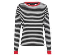 Langarmshirt 'stripe Fitted Ringer'
