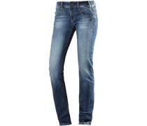 Yasmina Skinny Fit Jeans Damen blue denim
