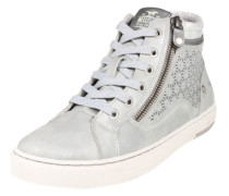 Sneaker mit Strass-Applikationen