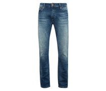 Regular-Fit Jeans 'clark' blue denim