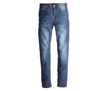 Seattle: Jeans mit Knitterfalten blau