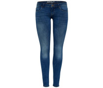Skinny Fit Jeans 'Coral Superlow' blue denim