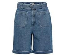 Extra High Waist Jeansshorts