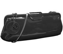 Damentasche Leder 34 cm schwarz