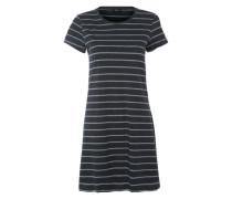 Nachthemd grau / schwarz