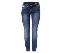 Slim Fit Jeans 'Touch' blau