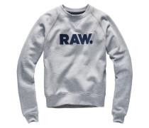 Sweater 'Xula Art Straight' graumeliert