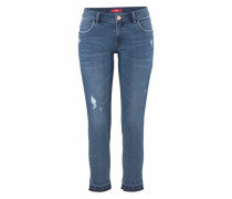 Ankle-Jeans blue denim