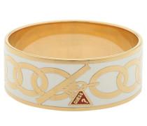 Armreif 'ubb30914' gold / weiß