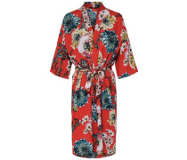 Print Kimono rot