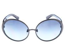 Sonnenbrille grau / rot