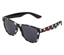 Daily Sonnenbrille dotty schwarz / weiß