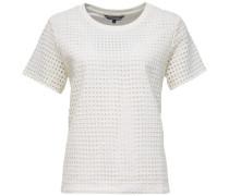 Sweatshirts »Maggie C-Nk Sweatshirt SS« weiß