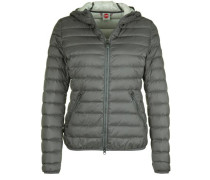 Daunenjacke 'superlight' grau