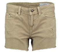 Beige Denim-Shorts aus Baumwolle '45' beige