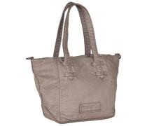 Kiki Washed Handtasche 29 cm grau