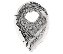 Accessories Schal schwarz / weiß