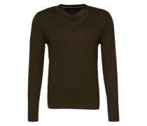 Pullover V-neck grün