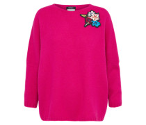 Wollpullover 'corsivo' pink