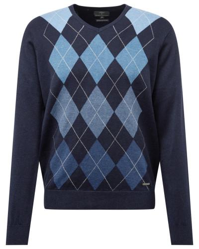 Pullover 'Pullover V-Neck Argyle'