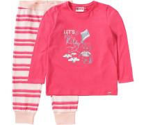 Baby Schlafanzug Naja für Mädchen pink