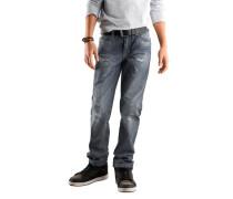 ARIZONA Arizona Jeans destroyed, Regular-fit, für Jungen grau