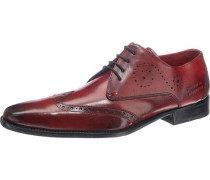 Oskar 7 Business Schuhe rot