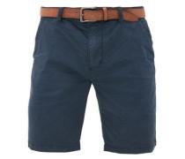 Plek Loose: Shorts mit Gürtel blau