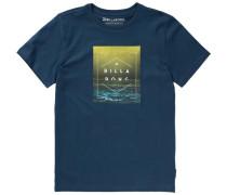 T-Shirt 'keeper' blau