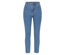 'Cropa Cabana' Jeans Regular Fit blau