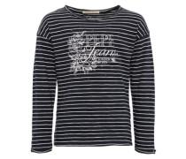 Shirt 'carmen JR' nachtblau / weiß