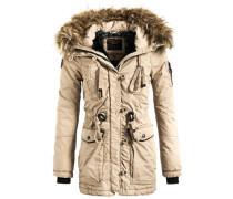 Mantel 'lethe' beige