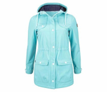 Softshellparka aqua