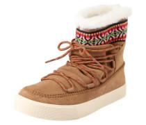 Snowboot 'Alpine' camel / braun