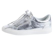 Fransen-Sneaker silber