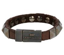 Bracciali Armband Leder 20 cm braun