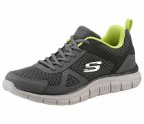 Sneaker grau / dunkelgrau / hellgrün
