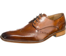 Clark 1 Business Schuhe cognac