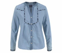 Jeansbluse 'alia' blue denim