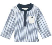 Langarmshirt Dighton blau / weiß