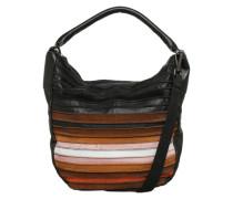 Handtasche 'Riffeltier' mischfarben / schwarz